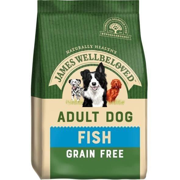 J/w adult fish grain free